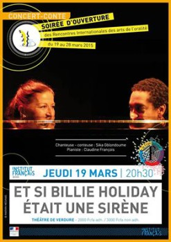 ET SI BILLIE HOLIDAY ETAIT UNE SIRENE RIAO 2015