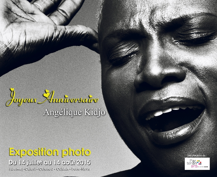 EXPOSITION PHOTO: ANGELIQUE KIDJO, UNE VIE, UNE CARRIERE, UNE FIERTE