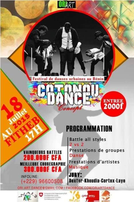 FEstival: COTONOU DANCE CONCEPT