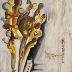 A la recherche  Acrylique sur toile 110cm x80cm