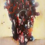 Au-delà du regard Acrylique sur toile 120cm x 80cm2015