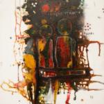 Dualité Acrylique sur toile 110cm x 80cm