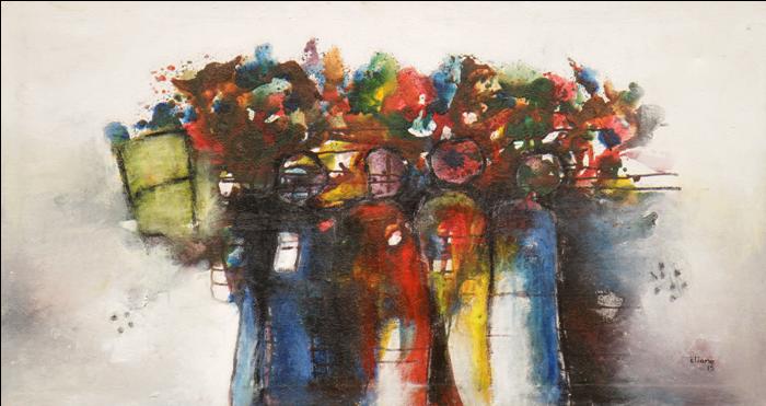 Expo d'œuvres d'art: Unité d'Eliane Aïsso