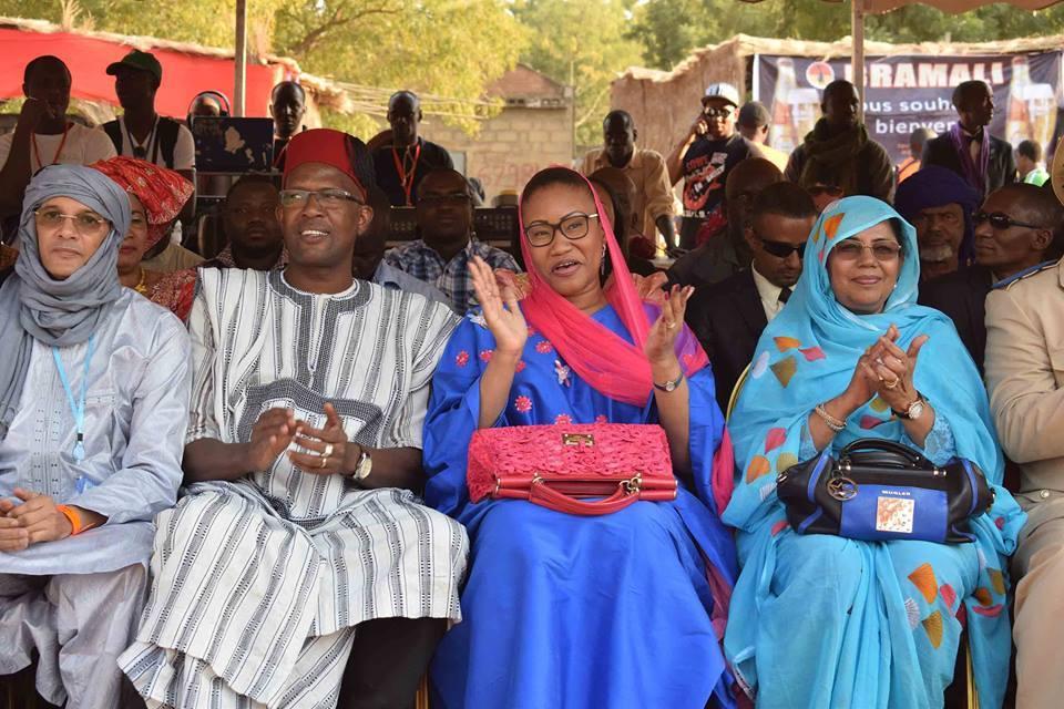 13ème édition du Festival sur le Niger : Le coup d'envoi de la  ministre N'Diaye Ramatou Laye Diallo