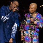 Angélique KIDJO Artiste Chanteuse Béninoise-et l'artiste Youssou N'dour_CarnagieHall 91