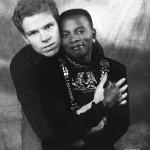 Angelique Kidjo et son mari Andre jean Hebrail