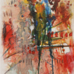 Initiation Acrylique sur toile 60cm x 40cm