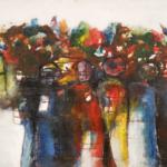 Tolérance  Acrylique sur toile  150cm x 80cm